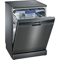 Siemens SN258B00ME Freestanding Dishwasher, Black