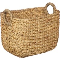 John Lewis and Partners Country Water Hyacinth Storage Basket