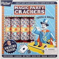 Ridley's Magic Party Luxury Christmas Rainbow Crackers, Pack of 6, Multi