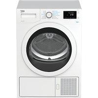 Beko DPH8744W Freestanding Heatpump Tumble Dryer, 8kg Load, A++ Energy Rating, White