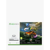 Microsoft Xbox One S Console, 1TB, with Wireless Controller, Rocket League Blast-Off and 3 Months of Xbox Live Gold and 1 Month Game Pass Bundle
