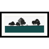 Jacky Al-Samarraie - Roundhay Park Framed Print & Mount, 44.5 x 84.5cm
