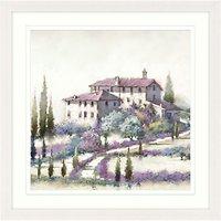 Richard Macneil - Tuscan Villa Framed Print & Mount, 77 x 77cm