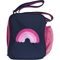 Tinc Mallo Insulated Lunch Bag With Carry Handle, Navy/Pink
