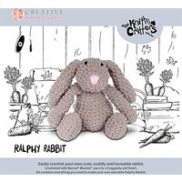 Knitty Critters Ralphy Rabbit Crochet Kit