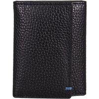 John Lewis & Partners Leather Keyring Case, Black