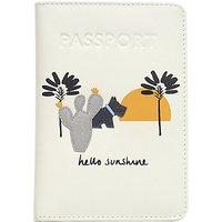 Radley Hello Sunshine Leather Passport Cover