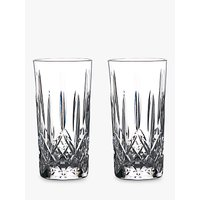Waterford Gin Journeys Lismore Highball Glasses, Set of 2, 400ml, Clear
