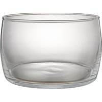 John Lewis & Partners Serve Glass Bowl, 23cm, Clear