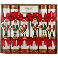 Caspari Nutcracker Parade Christmas Rainbow Crackers, Pack of 6, Multi