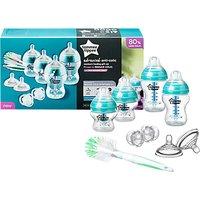 Tommee Tippee Advanced Anti-Colic Newborn Feeding Set, White