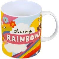Happy News Chasing Rainbows Mug
