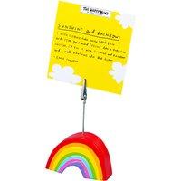 Happy News Rainbow Clip Photo Holder, Multi