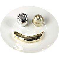 Pols Potten Fruit Smile Plate, White