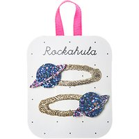 Rockahula Girls' Planet Hair Clips, Pack of 2, Blue/Gold