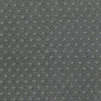 John Louden 3D Star Print Fabric, Grey