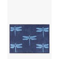 Turtle Mat Eden Project Dragonfly Door Mat, Blue