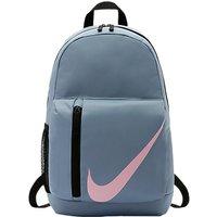 Nike Children's Elemental Backpack, Ashen Slate/Black/Pink