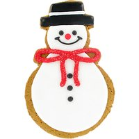 Image on Food Gingerbread Biscuit Snowman, 115g