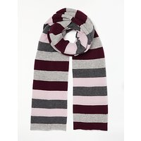 Collection WEEKEND by John Lewis Stripe Wrap, Grey/Multi