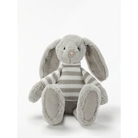 John Lewis & Partners Bunny In a Stripe Jumper Soft Toy