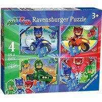 Ravensburger PJ Masks Jigsaw Puzzle, Box of 4