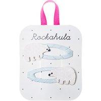 Rockahula Girls' Polar Bear Hair Clips, Pack of 2, Blue