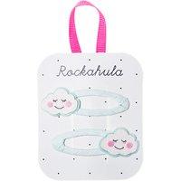 Rockahula Girls' Sleepy Cloud Hair Clips, Pack of 2, Aqua