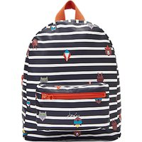 Joules Animal Stripy Backpack