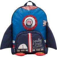 Joules Rocket Children's Backpack, Blue
