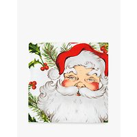 Talking Tables Botanical Santa Napkin, Pack of 20