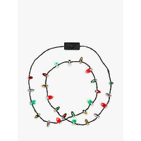 Talking Tables Christmas Light Up Necklace