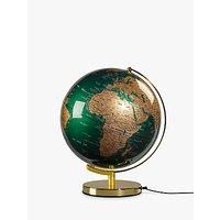 Wild & Wolf Green & Brass 12 Globe