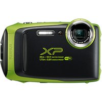 Fujifilm XP130 Waterproof, Freezeproof, Shockproof, Dustproof Digital Compact Camera with 5-25mm OIS Lens, 1080p Full HD, 16.4MP, 5x Optical Zoom, Wi-Fi, Bluetooth, 3 LCD Screen