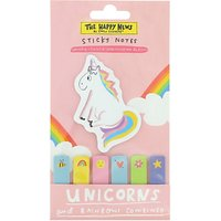 Happy News Sticky Notes and Unicorn Notepad