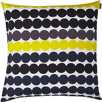 Marimekko R ¤symatto Cushion, Black / Multi