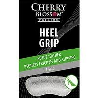 Cherry Blossom Suede Heel Grip, Grey