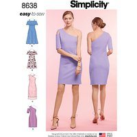 Simplicity Women's Dress Sewing Pattern, 8638