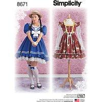 'Simplicity Sweet Lolita Dress, 8671