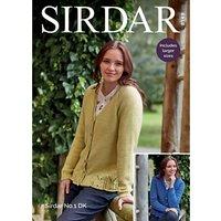 Sirdar No.1 DK Cardigans Knitting Pattern, 8149