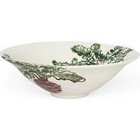 Emily Bond Beetroot Salad Bowl, Dia.30cm, White/Multi