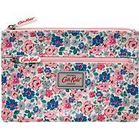 Cath Kidston Mews Ditsy Pencil Case, Pink/Blue