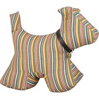 Fred & Ginger Stripe Dog Door Stop