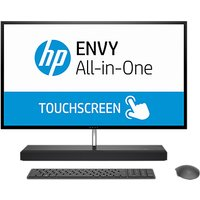 HP ENVY 27-b206na All-in-One Desktop PC, Intel Core i7, 8GB RAM, 2TB HDD + 256GB SSD, NVIDIA GTX 1050, 27 4K Ultra HD, Black