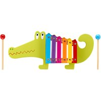 Orange Tree Crocodile Xylophone Wooden Toy