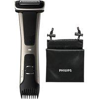 Philips Series 7000 Showerproof Body Groomer and Trimmer, Black