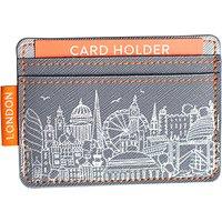 Sketch London Card Holder, Grey