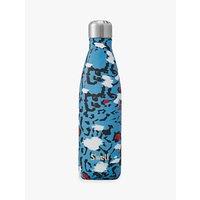 S'well Azure Leopard Print Drinks Bottle, 500ml
