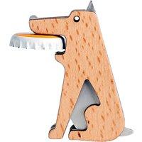 Kikkerland Beech Wood Dog Bottle Opener