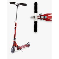 Micro Sprite Deluxe Scooter, 5-12 years, Red Light